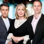 ... in England: Matthew Amroliwala, Kirsty Young, Martin Bayfield