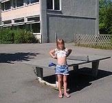 Identifiziert: das Mädchen vom Schulhof.