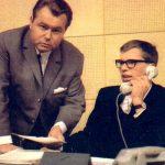 Eduard Zimmermann und Peter Hohl Ende der 60er Jahre.