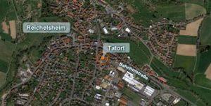 Der Tatort in Erbach/Odenwald.