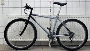 In Tatortnähe gefundenes Fahrrad
