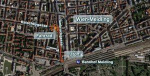 Karte: Lage des Tatorts