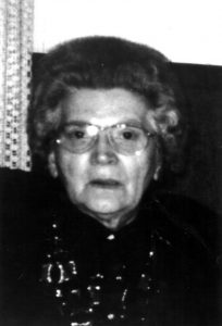 Das Opfer: Oma Saße.
