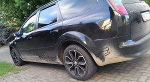 Das Auto des Opfers