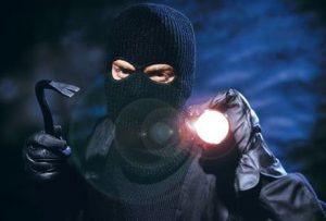 Einbrecher im Haus