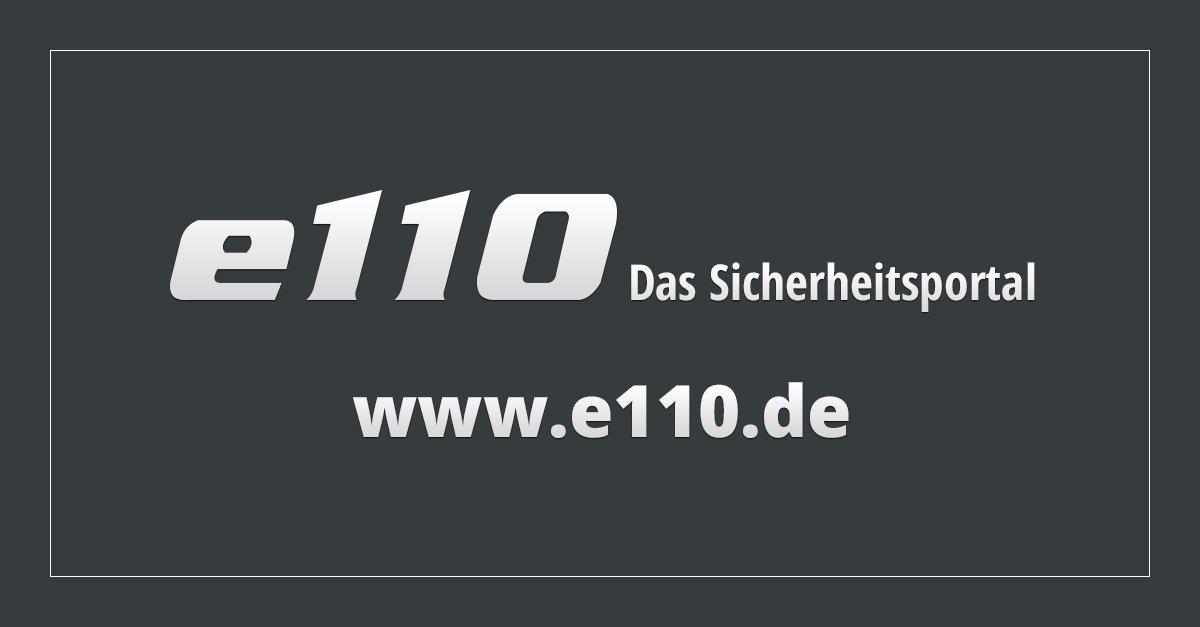 Seite nicht gefunden - e110 - Das Sicherheitsportal->